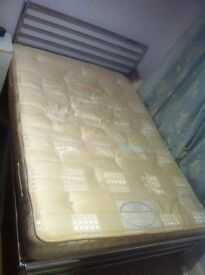 pocket sprung double mattress, used