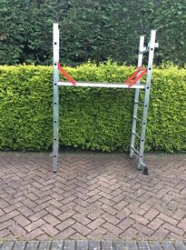 For sale ladder and lawnmower