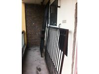 Wrought Iron gate for block walkway or balcony