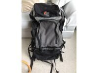Lowe Alpine APS heavy duty backpack for travelling