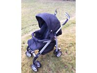 Silvercross buggy with carrycot and cosy toes