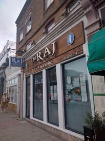 A3 Fully Licence Indian Restaurant in Surbiton Surrey For Sale/Lease