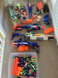 Nerf guns (job lot)