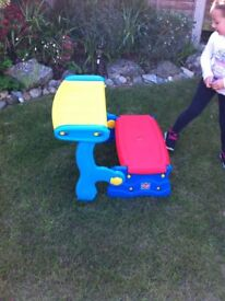 small childrens desk and storage new boxed ideal for christmas