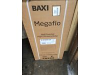NEW BAXI MEGAFLO SYSTEM 32 ERP WALL MOUNTED HIGH EFFICIENCY BOILER