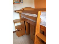 Cabin bed for sale with mattress