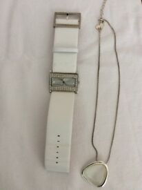 Watch and necklace set