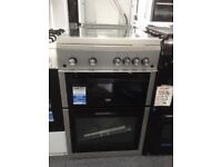 Beko 60cm gas cooker with glass lid. £340 new/graded 12 month Gtee