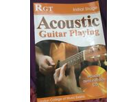 Acoustic guitar playing initial stage RGT book