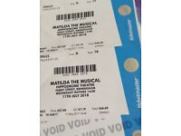 Matilda The Musical, Birmingham 2 tickets