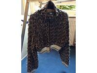 Alexander Wang Knitted Zipped Jacket UK 10/12
