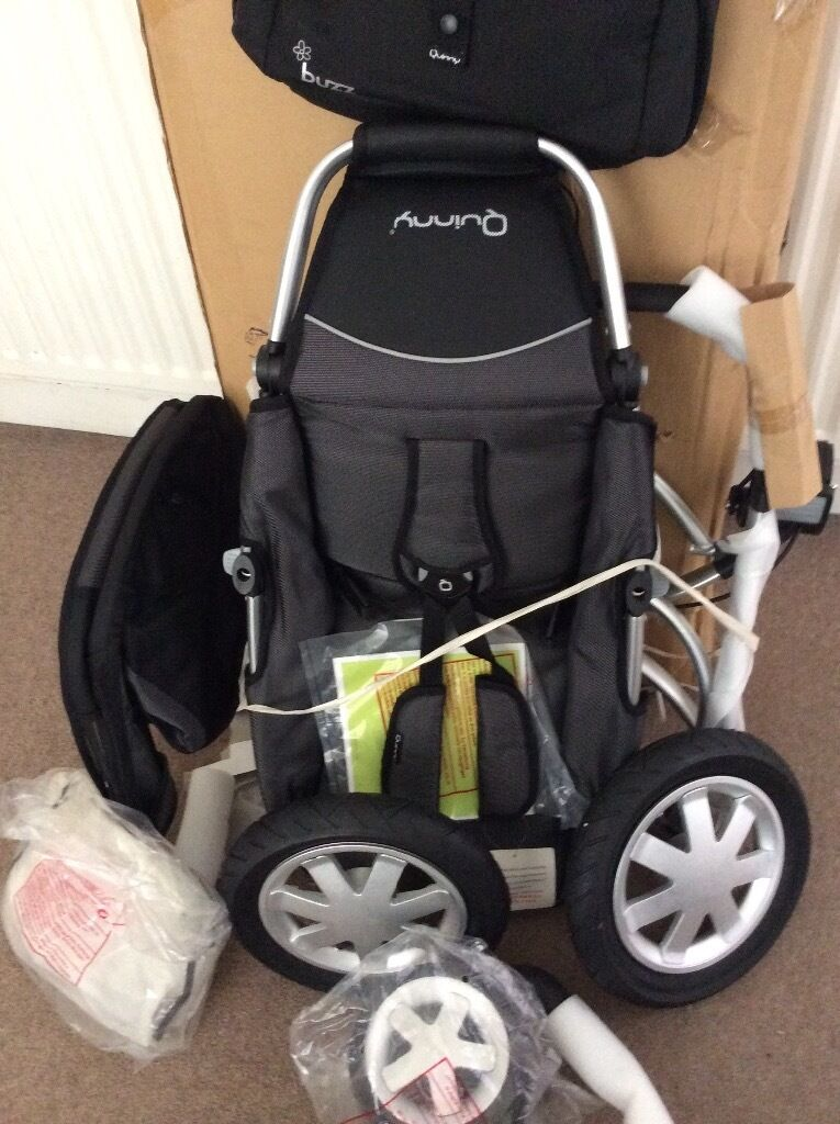 QUINNEY BUZZ PUSHCHAIR (UNUSED - AS NEW)