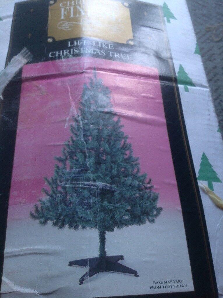 7 ft Christmas tree blue artic fir
