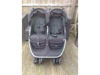 Double pushchair by Britax