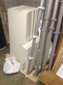 Ikea Stolmen shelving and wardrobe system - can deliver locally
