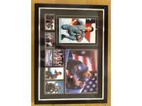 Tom Cruise Top Gun signed photos. Framed. Certified.