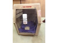 Large IATA approved dog crate (approx 700 size)