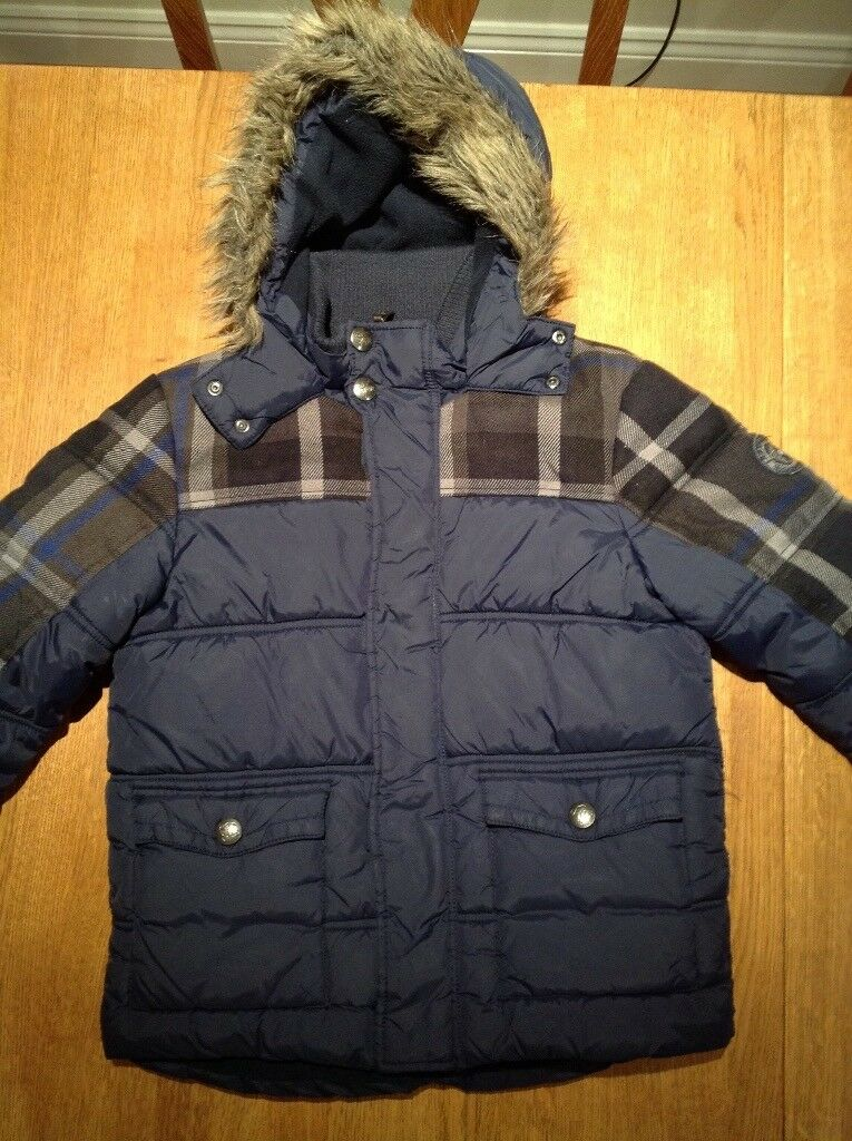 Boys John Rocha coat aged 9-10 lovely and warm