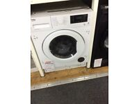 Intergrated Beko washer dryer new no package 12 mth gtee £369