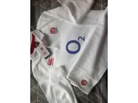 Kids Official England Rugby Top - size 12 years - new, unworn, with tags
