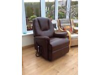 Sherborne Milburn electric Riser and Recliner chair