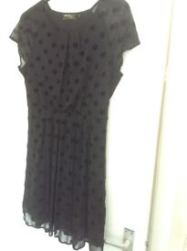 Formal black dress size 14