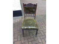 Antique Chairs needing restoration