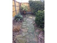Free crazy paving slabs will cover approx 10 square metre. Must collect.