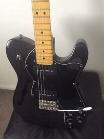 Fender Telecaster thinline with upgrades
