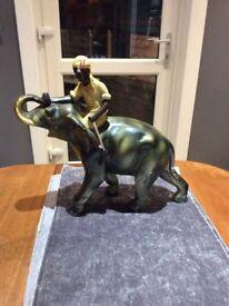Retro Elephant Statue