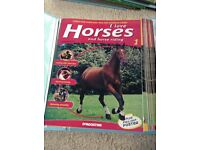 I Love Horses Magazines and Minature Stable Collection