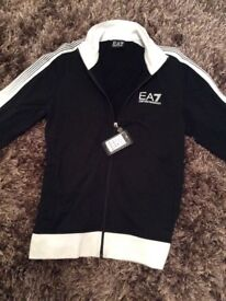 NEW Armani zip top with tags