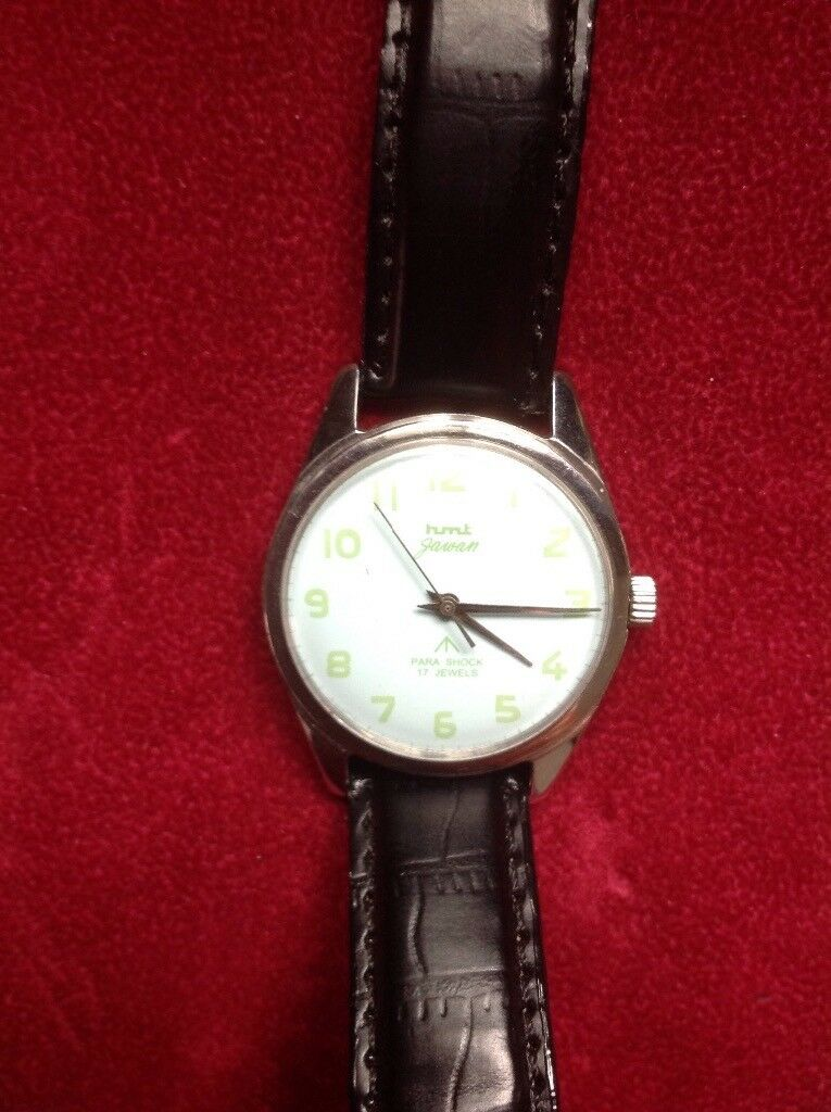 Vintage military issue watch Mechanical Working broad arrow