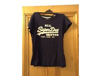Women's Superdry top size L (12/14)