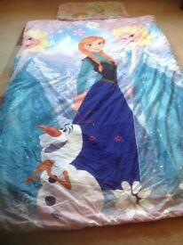 Frozen single duvet cover and pillowcase