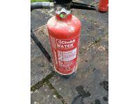Chubb 3 Litre Fire Extinguisher