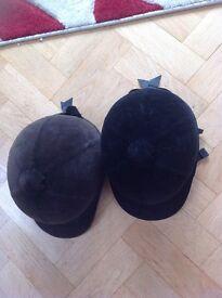 Horse riding hats Charles Owen 6 5/8 black