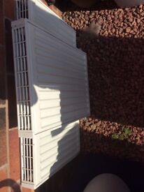 2 Radiators in excellent for sale due to house modelling