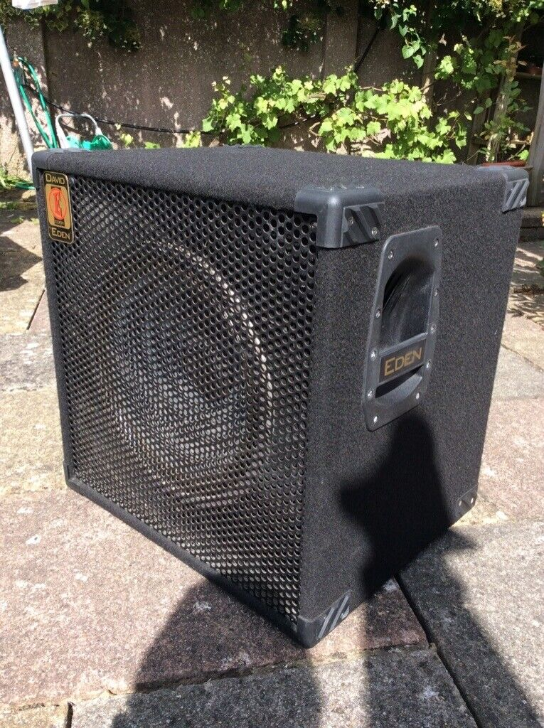 the eden d115 4 ohm bass guitar amplifier speaker cabinet in haywards heath west sussex gumtree. Black Bedroom Furniture Sets. Home Design Ideas