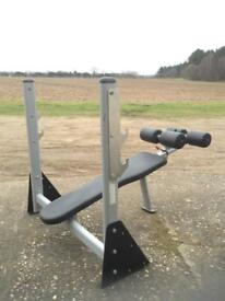 Fit-Equip Commercial Olympic Decline Bench (Delivery Available)