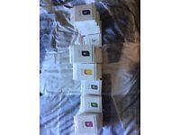 Job lot of 62 anti-loss alarms. Various colours