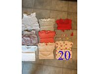 £12 for a large bundle of GIRLS CLOTHES - really good condition