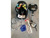 Maxi Cosi Cabriofix and Easy2base with lots of added extras