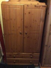 Wardrobe only 2 years old Argos have it for sale for £134.00 all I want is £70.00