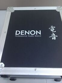 Denon DN-S5000 Pro cd mix deck and flight case