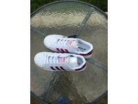 Womens superstar adidas trainers