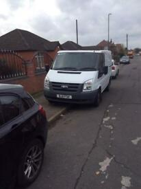Ford transit van 2011 plate only 58000 from new !!