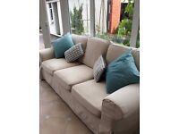 IKEA Ektorp 3 seater sofa + extra set covers