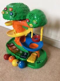 V Tech Discovery Tree House Lights Sounds Music Learn activity fun station centre