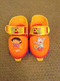 Dora The Explorer Kids Roller Skates